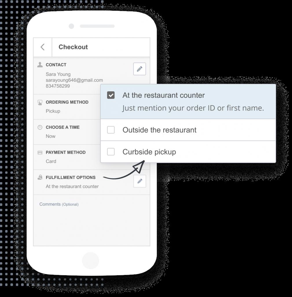 Screenshot of the user panel